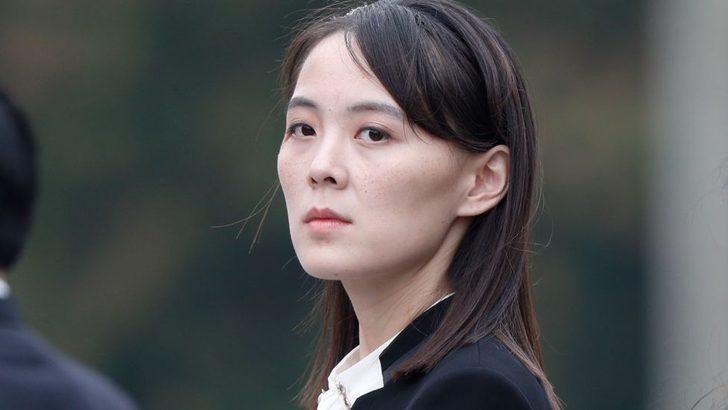 Kim Jong-un'un kızkardeşi sert çıktı: Bela çıkartmayın