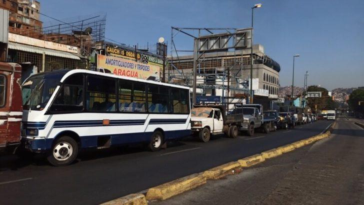 Petrol Zengini Venezuela'da Mazot Sıkıntısı