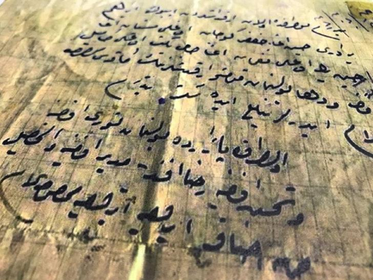 106 yıldır özenle saklanıyor! Çanakkale şehidinin babasına yazdığı son mektup yürekleri titretiyor