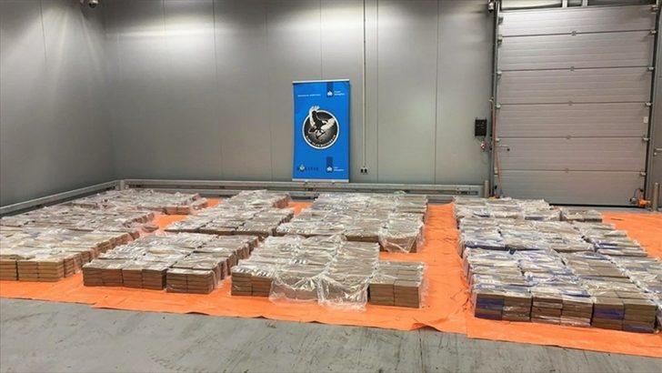 Hollanda'nın Rotterdam Limanı'nda 4 ton kokain ele geçirildi