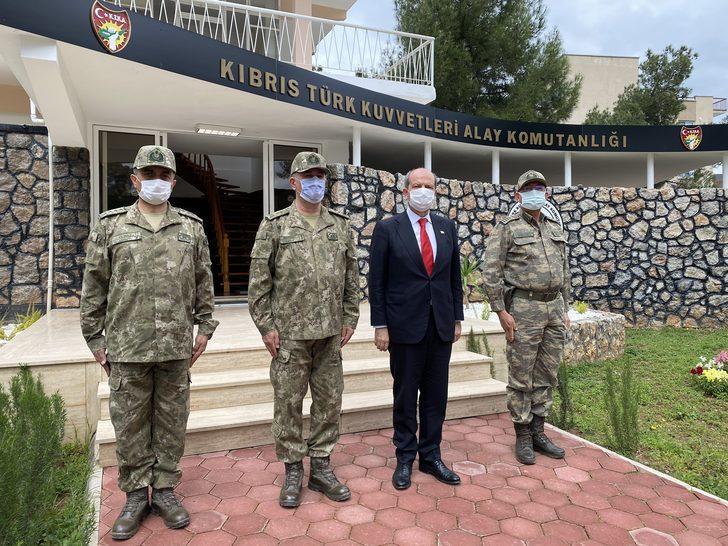 KKTC Cumhurbaşkanı Tatar: Türk askeri Ada'dan bir daha gitmeyecek