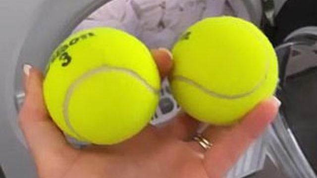 İhtiyacınız olan şey sadece tenis topu!