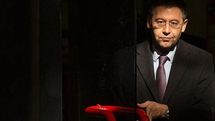 Barcelona'nın eski başkanı Josep Maria Bartomeu gözaltına alındı