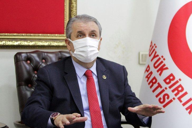 BBP Genel Başkanı Destici'den flaş 'İstanbul Sözleşmesi' açıklaması