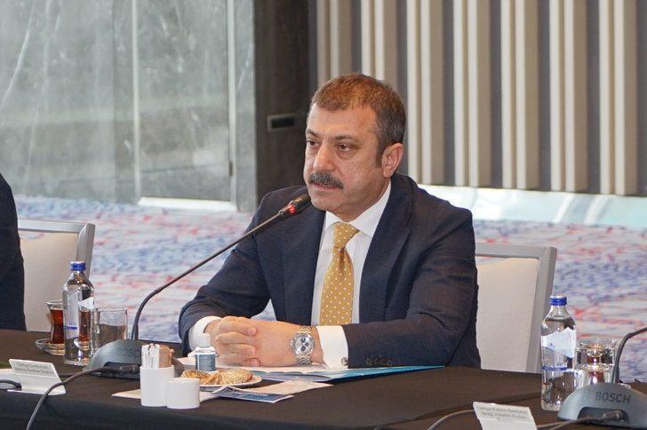 TCMB Başkanı Kavcıoğlu, banka yöneticileriyle toplantı yaptı