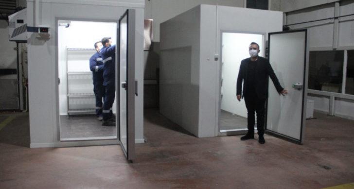Sivas'ta üretilen soğuk hava deposu 70 ülkeye satılıyor