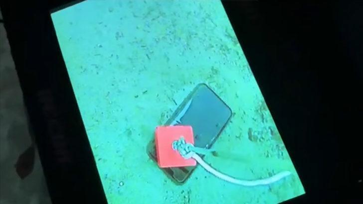 Buz tutan göle düşen iPhone 11 Pro imkansızı başardı!