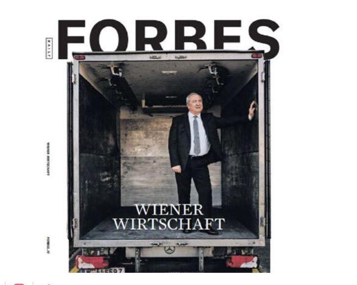 Traktör parası için Avusturya'ya gitti, iş insanı oldu! Forbes dergisine kapak oldu!