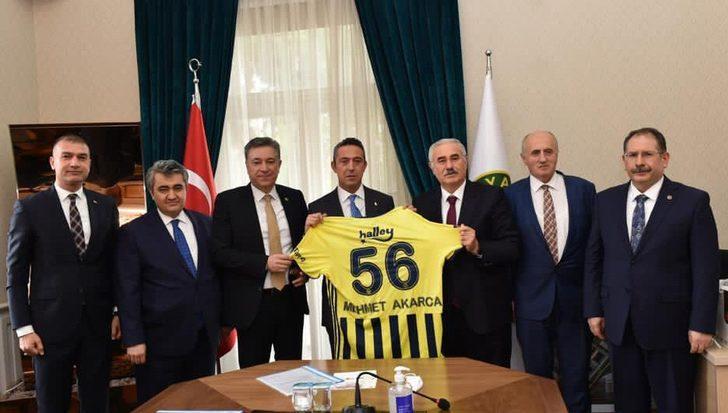 Fenerbahçe'den Yargıtay'a ziyaret