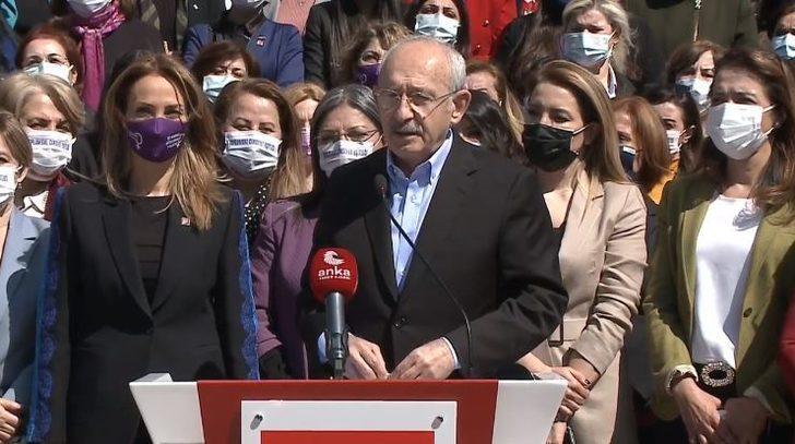 Kemal Kılıçdaroğlu'ndan 'İstanbul Sözleşmesi' mesajı