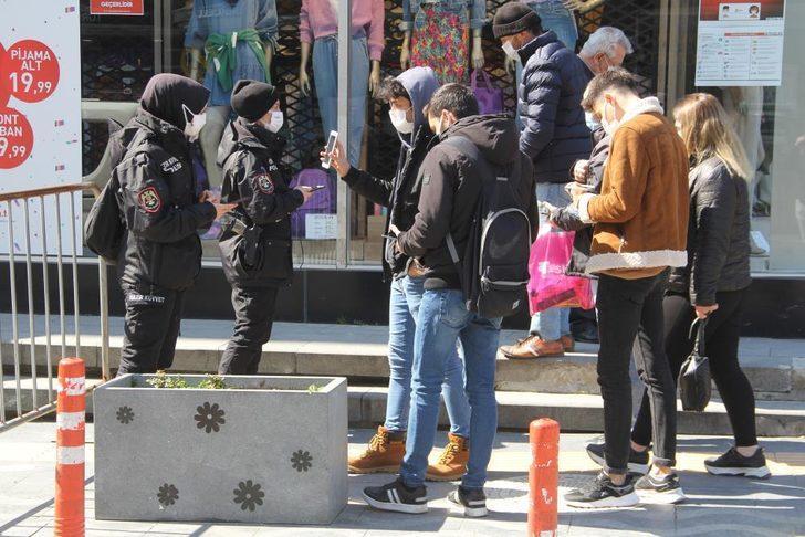 Koronavirüsün pik yaptığı Samsun'a polis takviyesi