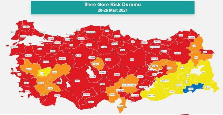 Fahrettin Koca açıkladı | İllere göre risk durumları neler? İşte güncel risk haritası…
