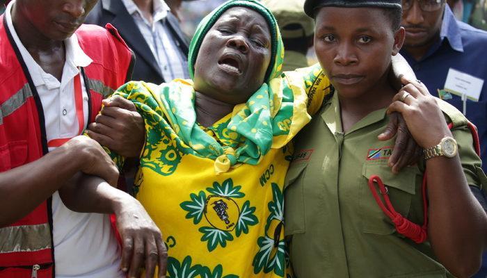 Tanzanya Devlet Başkanı'nın cenaze törenindeki izdihamda 45 kişi öldü