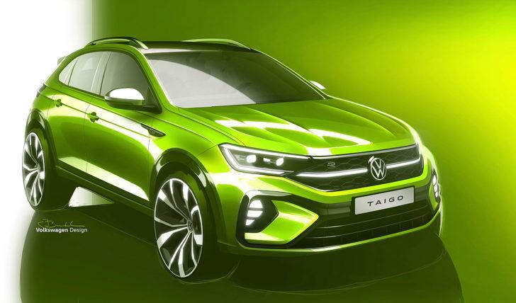 Volkswagen'in yeni SUV'u Taigo yola çıkıyor! İşte özellikleri
