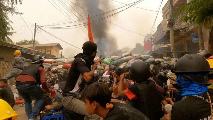 Myanmar'daki protestolarda ölü sayısı 521'e yükseldi