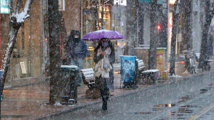Meteoroloji'den çok sayıda il için kar ve yağmur uyarısı (31 Mart Çarşamba hava durumu)