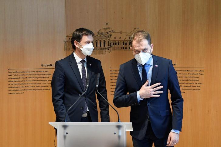 Koalisyona haber vermeden aşı alan Başbakan Matovic istifa etti