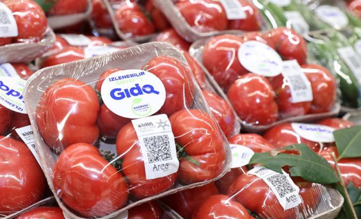 Sebzelerin tarladan sofraya gelişi QR Kod ile izlenecek