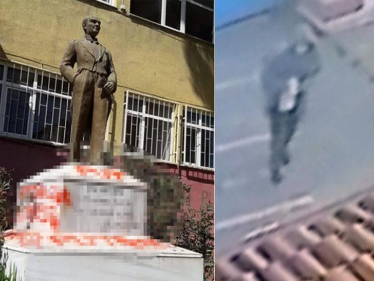 Tekirdağ'da Atatürk heykeline çirkin saldırı! Zanlının pişkin sözleri çileden çıkardı