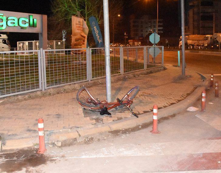 Aksaray'da kamyonun çarptığı bisikletli çocuk hayatını kaybetti