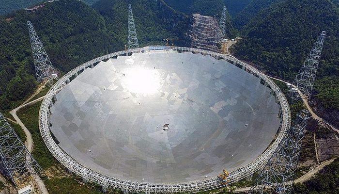 Çin, dev radyo teleskobu FAST'i uluslararası kullanıma açtı