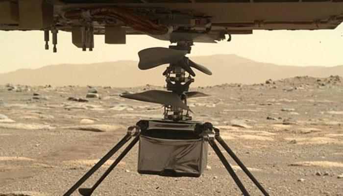 NASA'dan Ingenuity kararı! Mars'taki ilk helikopter uçuşu ertelendi