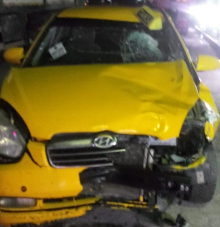 Ankara'da taksinin çarptığı yaya hayatını kaybetti