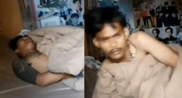 Yorgun düştü! Polisin evine soyguna giren hırsız sızıp kaldı