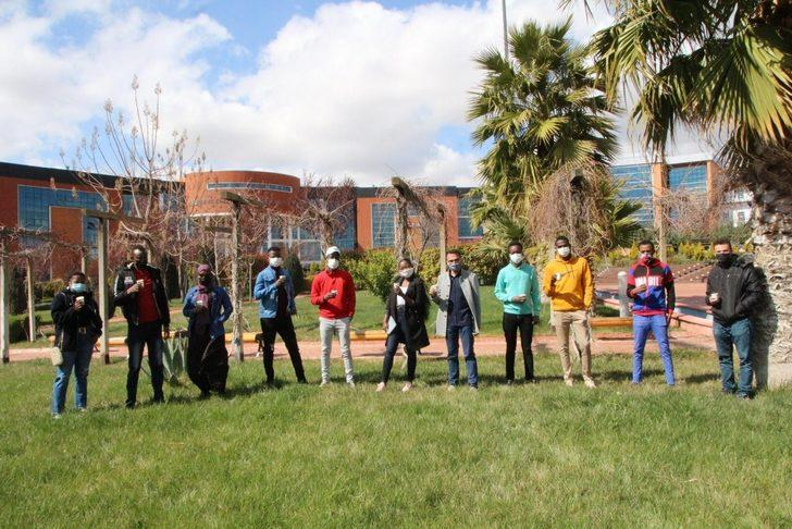 Uluslararası öğrencilerden etkinlikleri devam ediyor