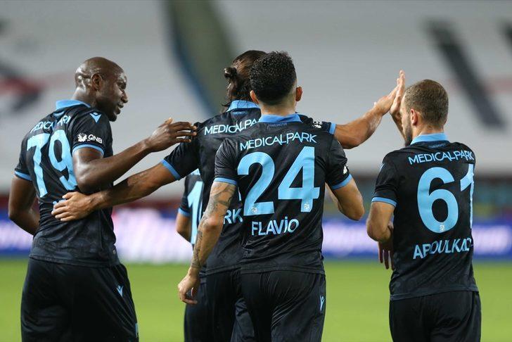 Trabzonspor'da 5 isim Sivasspor maçında yok