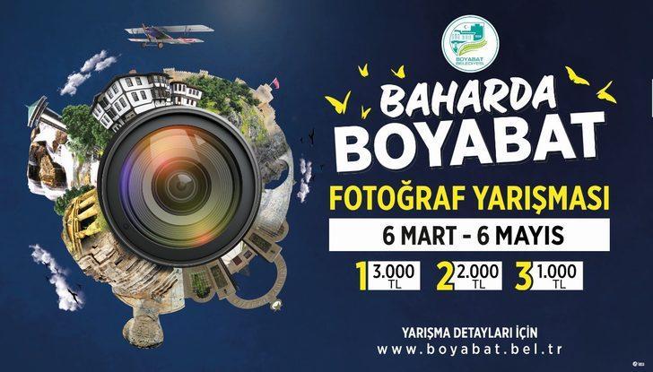 """""""Baharda Boyabat"""" fotoğraf yarışması son başvuru tarihi 6 Mayıs'a uzatıldı"""