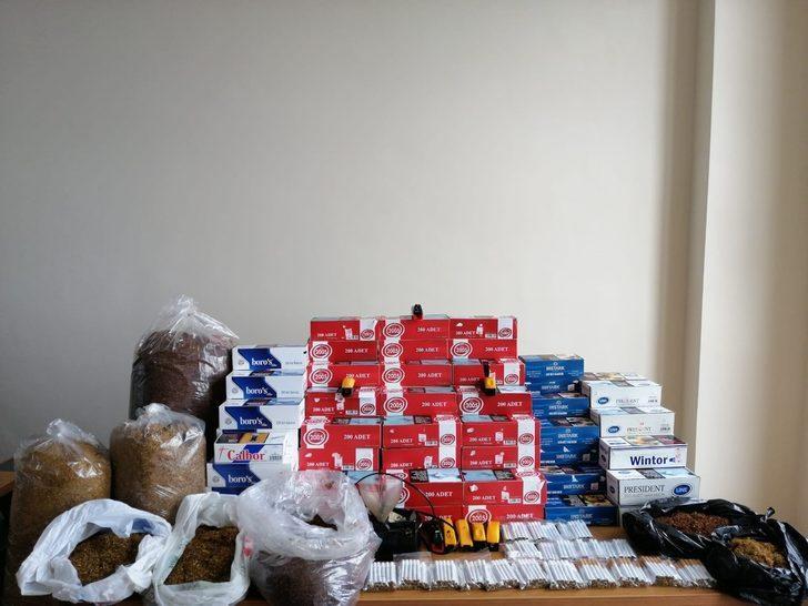 Türkeli'de tütün kaçakçılığı operasyonu: 2 gözaltı