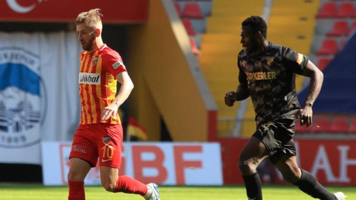 ÖZET   Kayserispor - Göztepe maç sonucu: 1-1