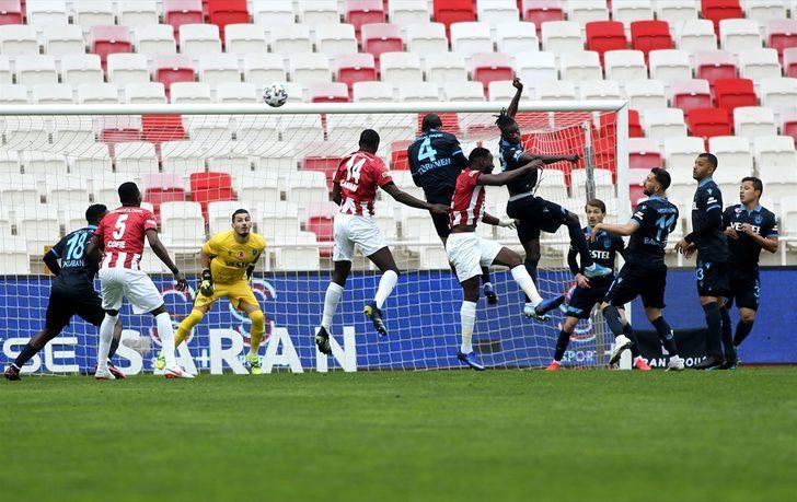 ÖZET   Sivasspor 0-0 Trabzonspor