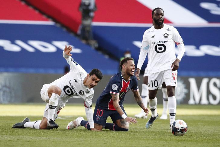 Lille, şampiyonluk yolunda PSG'ye gözdağı verdi