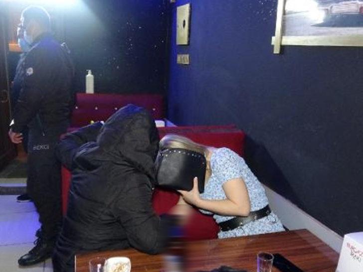 İzmir'de eğlence mekanına koronavirüs baskını! Böyle yakalandılar