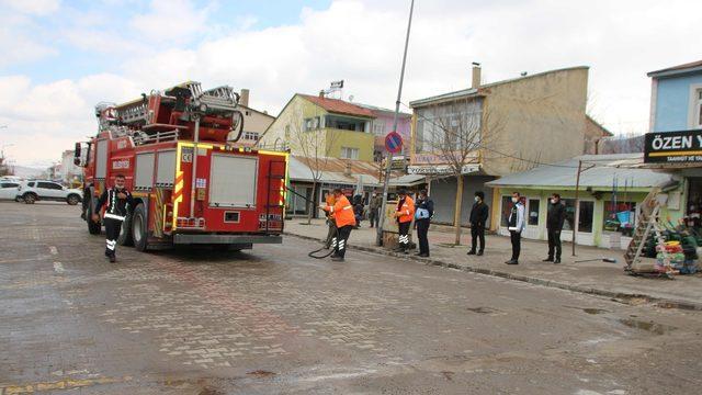 Varto Belediyesinden bahar temizliği