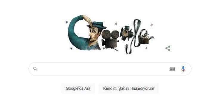 Sadri Alışık kimdir? Google'dan Sadri Alışık'a özel Doodle