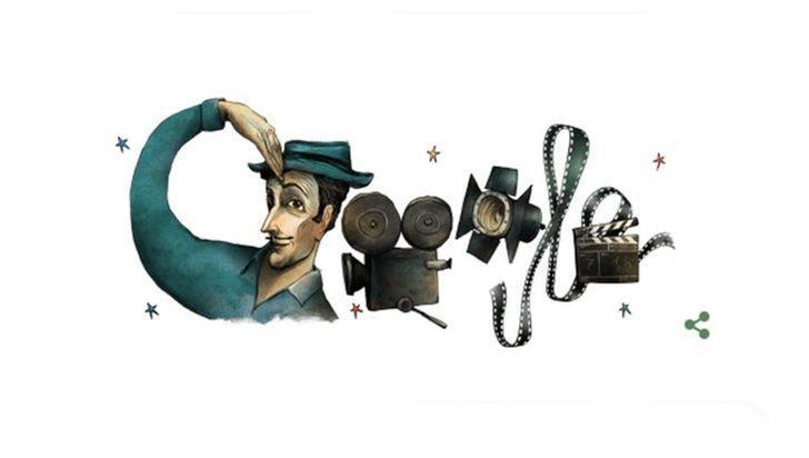 Google'dan Sadri Alışık'ın doğum gününe özel Doodle