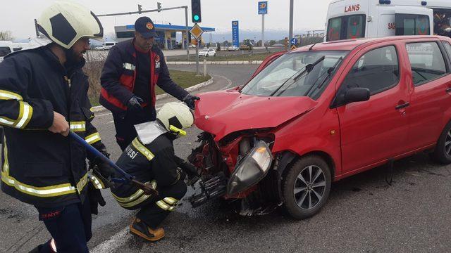 Bingöl'de trafik kazası: 5 yaralı