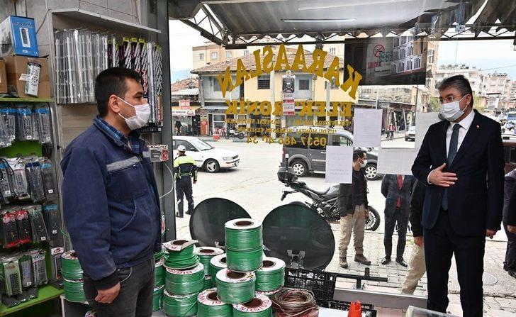 Osmaniye'de korona virüs denetimleri sürüyor
