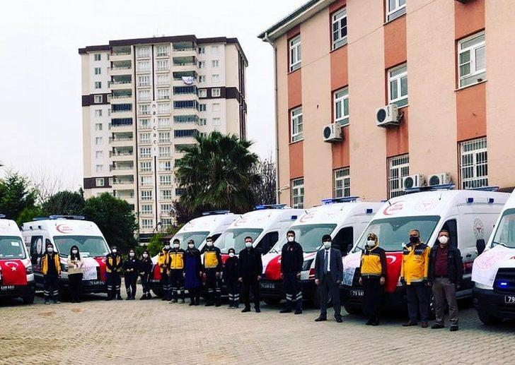 Kilis'e 12 yeni Ambulans