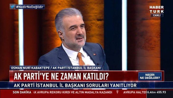 İBB neden kaybedildi? AK Parti İstanbul İl Başkanı Osman Nuri Kabaktepe'den dikkat çeken açıklamalar