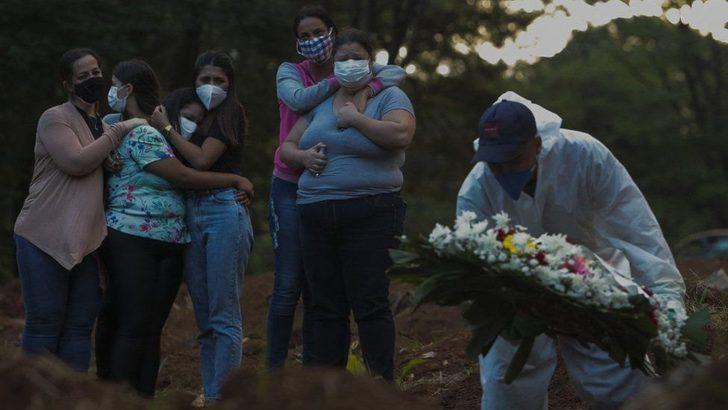 Brezilya'da Covid ölümlerinde rekor: Günlük can kaybı 4 bini aştı