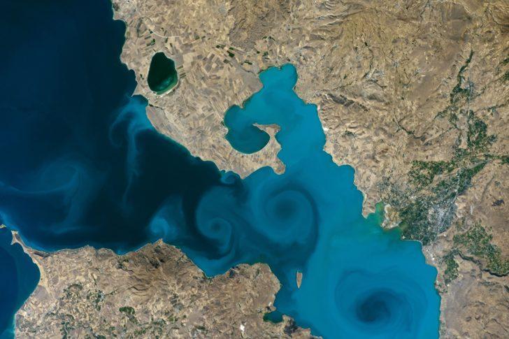 NASA'nın Van Gölü fotoğrafı finale kaldı!