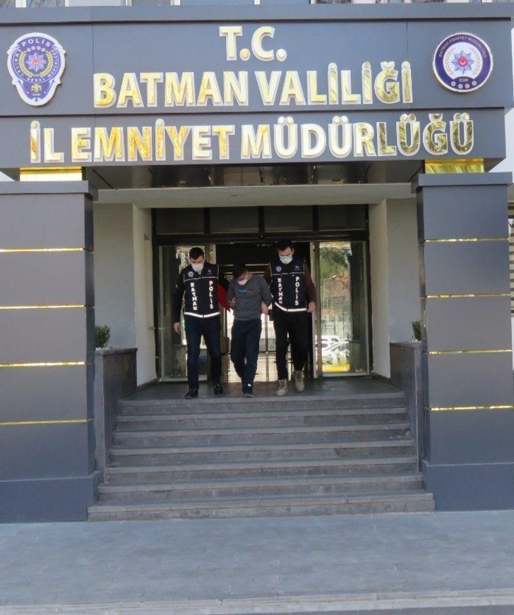 Batman'da 19 yıl 8 ay kesinleşmiş hapis cezası bulunan şahıs yakalandı