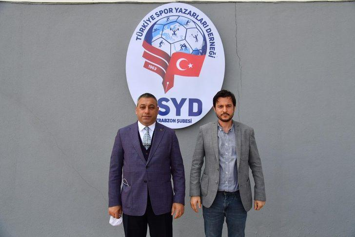 AK Parti Ortahisar İlçe Başkanı Çebi, TSYD Trabzon Şubesi'ni ziyaret etti