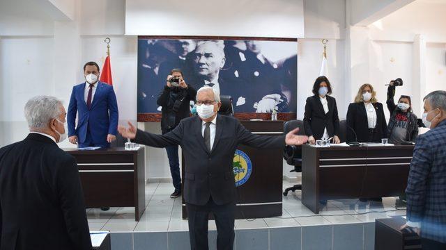 Başkan Posbıyık, mecliste barış mesajları verdi