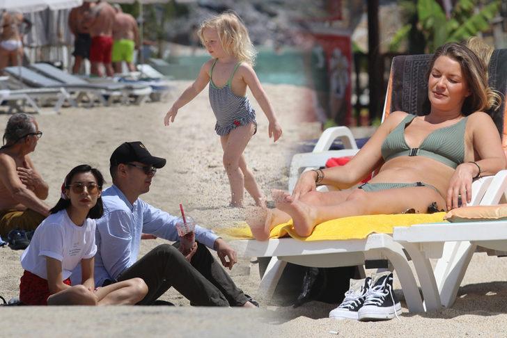Yazı aratmayan görüntüler! Güneşi gören plajlara akın etti