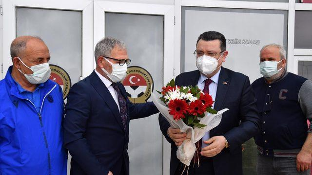 Ahmet Metin Genç, TÜFAD'ı ziyaret etti